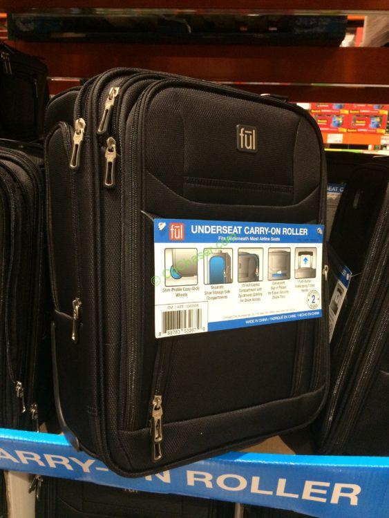 Ful Softside Rolling Underseat Tote Carry On Luggage