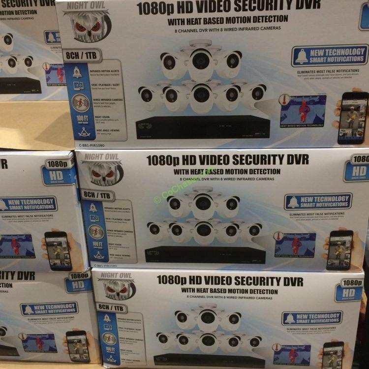 Night Owl HD Security System 8-Channel /8 Cameras – CostcoChaser