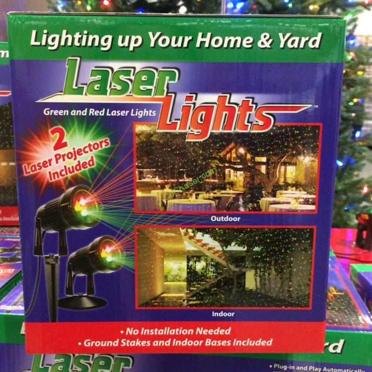 12 Ft Christmas Tree Costco: RED & Green Laser Projector 2 PACK