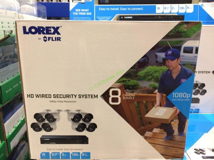 Lorex Flir 1080p Security System 16 Channel 8 Camera
