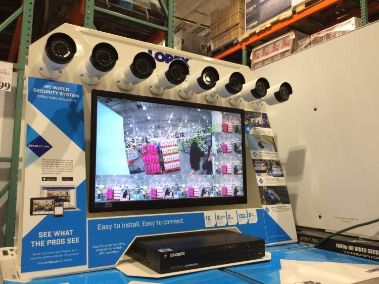Lorex Flir 1080P Security System 16 Channel / 8 Camera