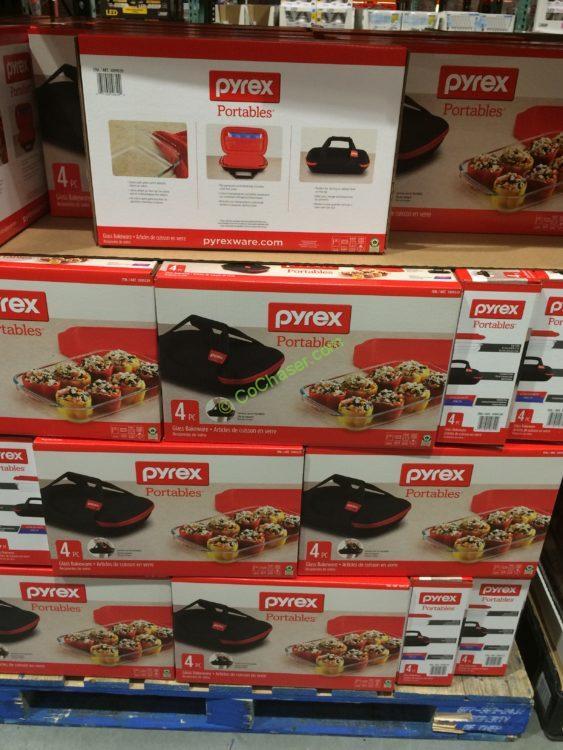 Costco 1099339 Pyrex3Piece PortablesSet Box