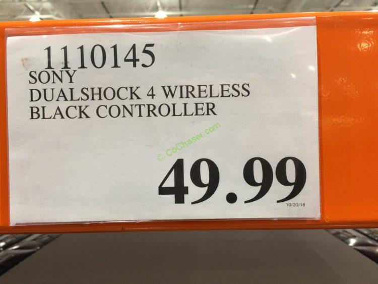 Costco-1110145-Sony-DUALSHOCK-4-Wireless-Black-Controller-tag