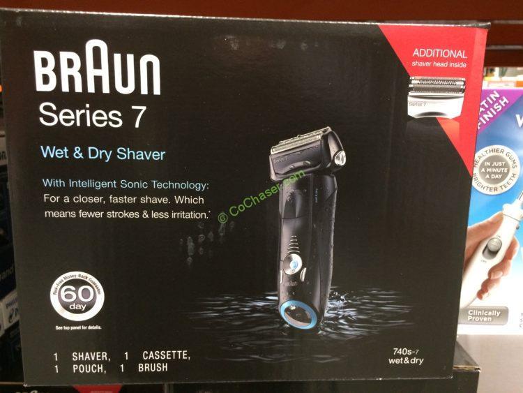Braun Series 7 Mens Shaver 740s 7wd Costcochaser