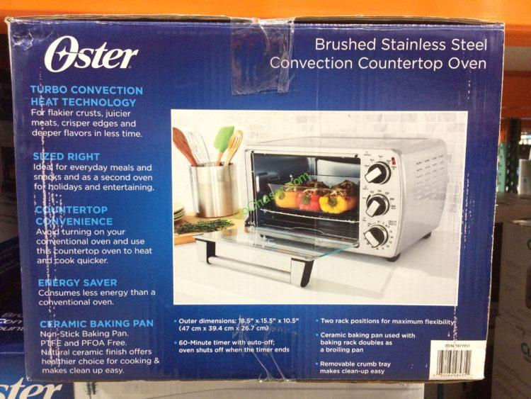 Oster 6 Slice Convection Countertop Oven Model