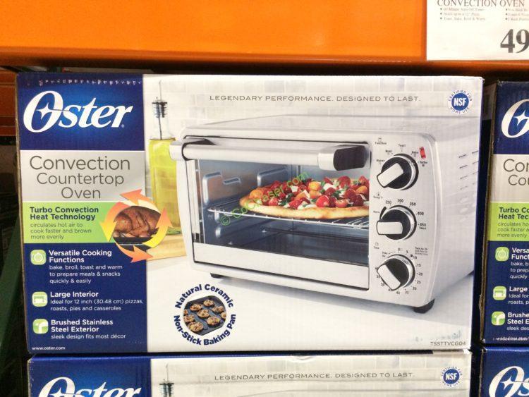 Costco 1871951 Oster 6 Slice Convection Countertop Oven