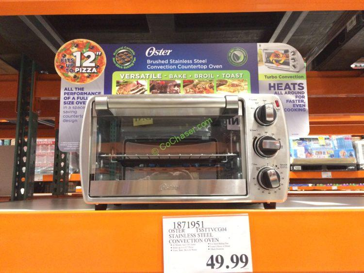 countertop model ovens convection oven toaster oster costco slice blog at