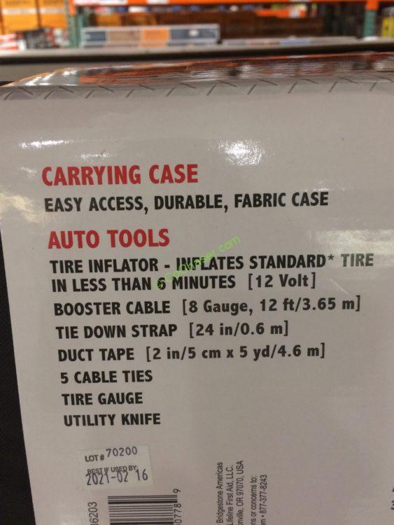 Costco Mount Prospect >> Bridgestone Auto Emergency Kit – CostcoChaser