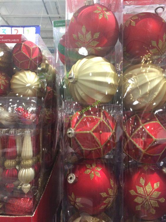 Shatter Resistant Ornaments 6 PC
