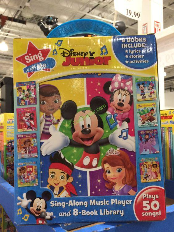 """Disney Junior """"Sing with Me"""" Music Player and 8-Book Library"""
