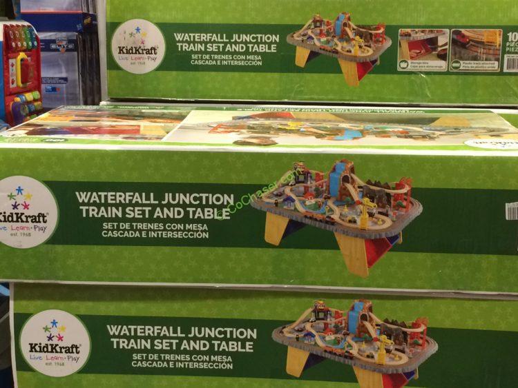 kidkraft waterfall train table instructions