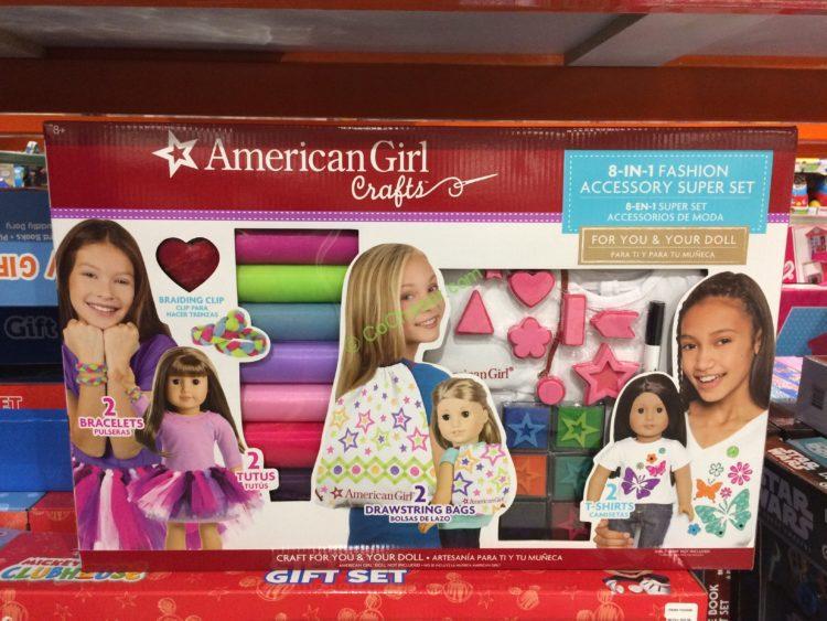 American Girl Activity Set