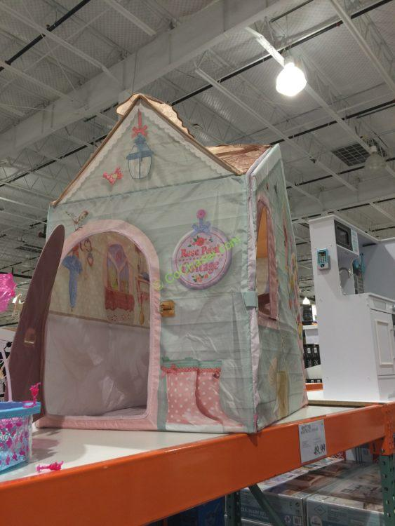 The Dreamtown Rose Petal Cottage Playhouse Costcochaser