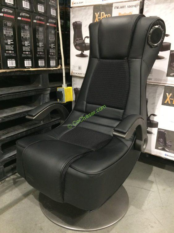 Amazing X Rocker X Pro Bluetooth Pedestal Gaming Chair Costcochaser Bralicious Painted Fabric Chair Ideas Braliciousco