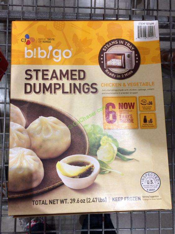 BIBGO Chicken Dumplings 6 Trays
