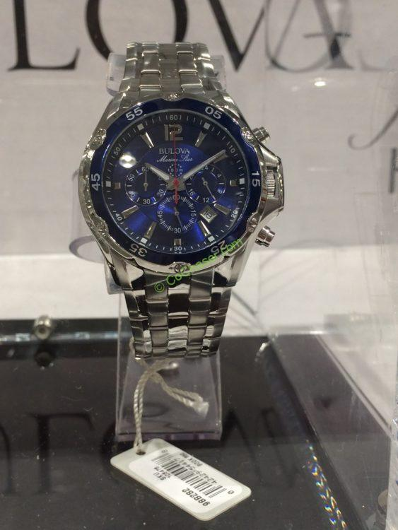 Bulova Marine Star Stainless Steel Men S Chronograph Watch Model