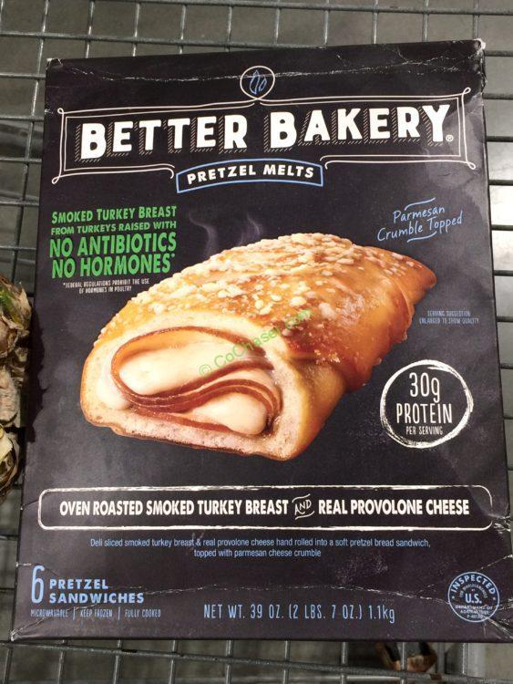 Costco 1092979 Better Bakery Turkey Pretzel Melt