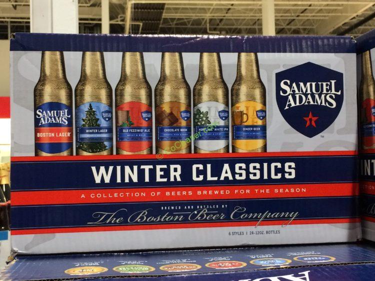 Samuel Adams Winter Favorites 24/12 OZ Bottles