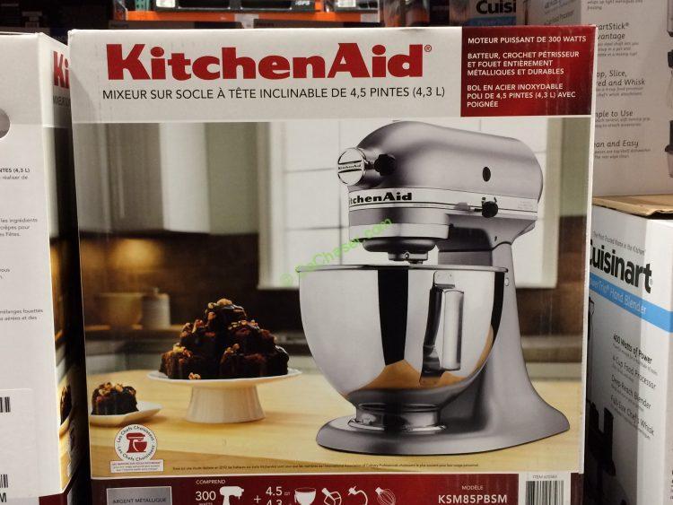 Costco 625583 Kitchenaid 4 5qt Stand Mixer With Tilt Head