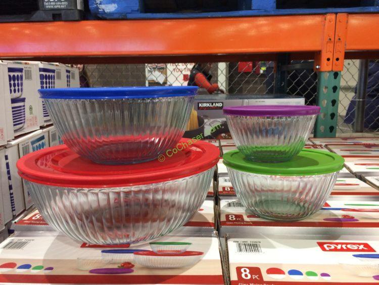Pyrex 8PC Mixing Bowl Set – CostcoChaser