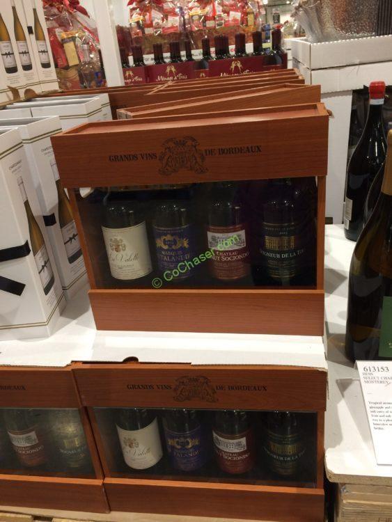 Grande Vins Bordeaux Collection 4-750ML Bottles