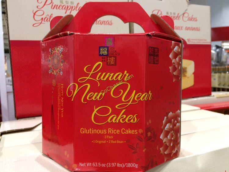 Joy Luck Palace Lunar New Year's Cakes 3 Pack 63.5 Ounce