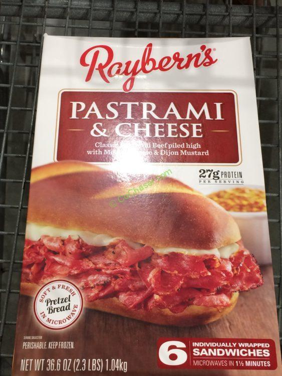 Raybern Pastrami Pretzel Roll 6 Count