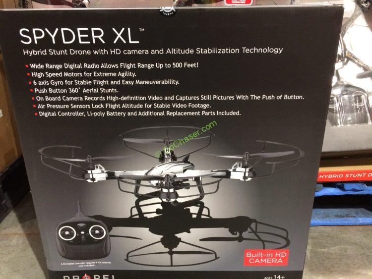 Propel Spyder Xl Drone With Hd Camera Costcochaser