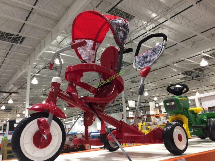 Radio Flyer Deluxe Ride Amp Stand Stroll N Trike Costcochaser