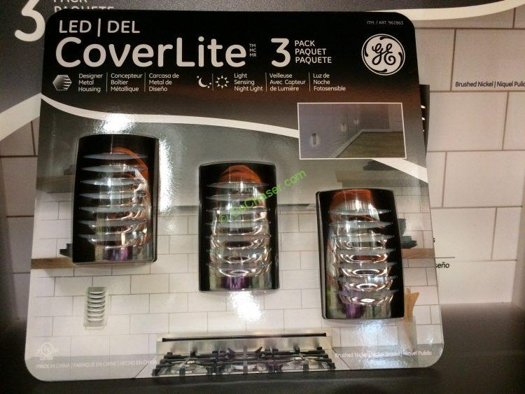 GE LED CoverLites 3PK
