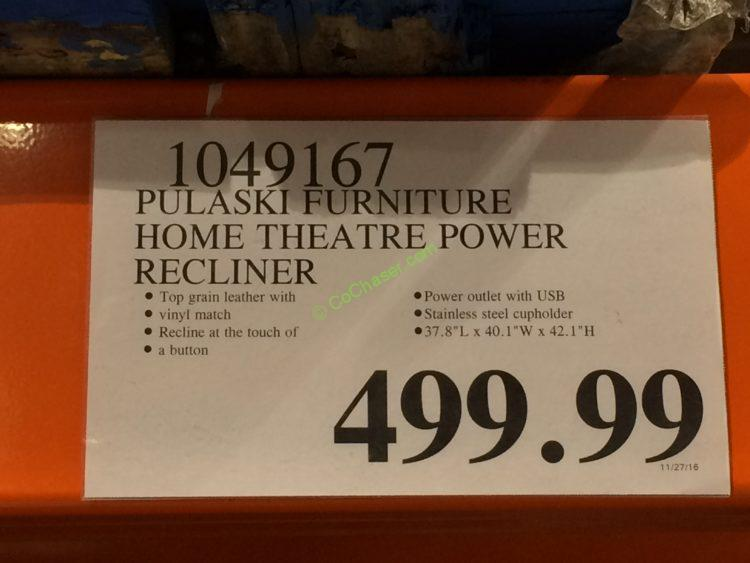 costco-1049167-Pulaski-Furniture-Home-Theatre-Power-Recliner-tag