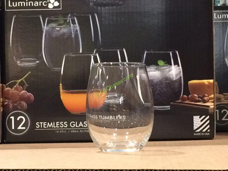 4c581beb696 Luminarc Stemless Glass 12PC Set – CostcoChaser
