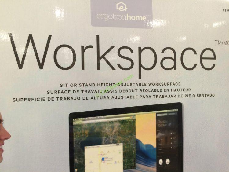 Ergotronhome Adjustable Height Desk Workspace Lift35