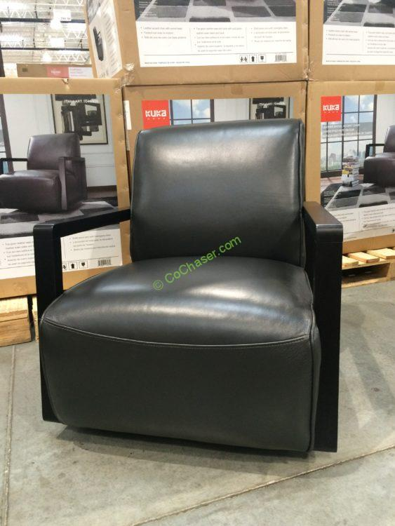 Superieur A Leather Swivel Chair Costcochaser