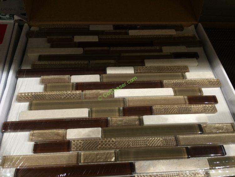 Harmonics Linear Perspectives Mosaic Tile Costcochaser