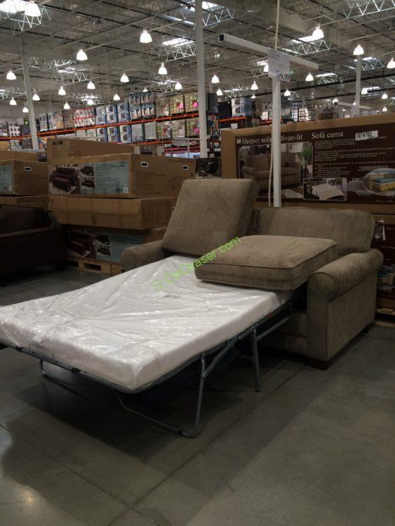 Costco 1074703 Synergy Home Sleeper Sofa Costcochaser
