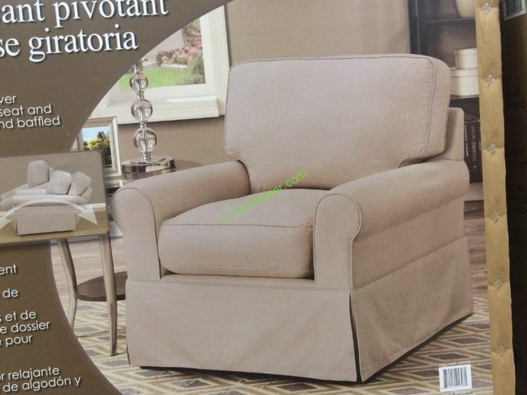 Costco-1074708- Synergy-Home-Fabric-Swivel-Glider1