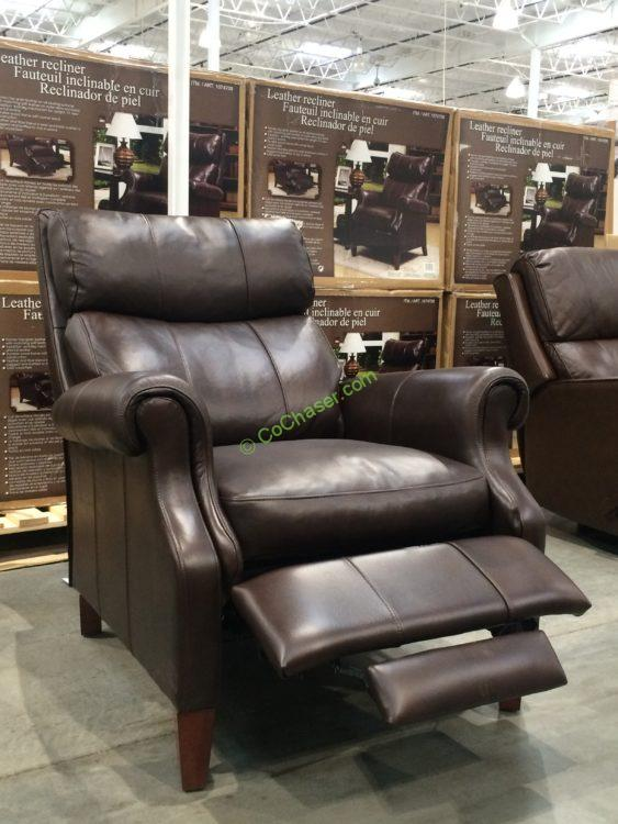 Synergy Home Leather Pushback Recliner