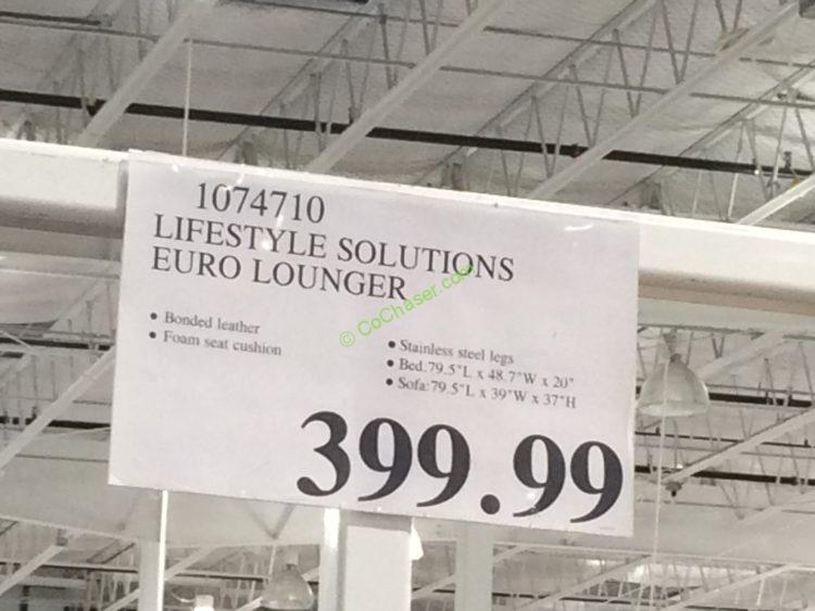 Costco-1074710- Lifestyle-Solutions-EURO-Lounger-tag