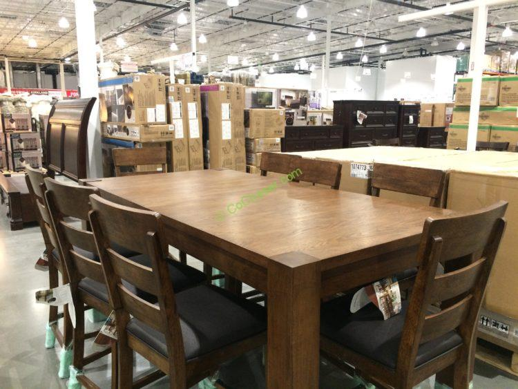 Marvelous Costco 1074773 Universal Broadmoore 9PC Counter Height Dining Set