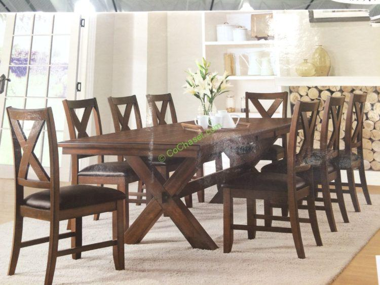 Dining sets costco and tables on pinterest dining room sets costco dining table furniture - Costco dining room set ...