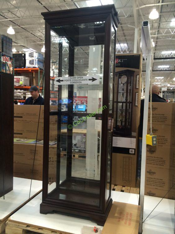 Costco-1074782-Pulaski-Sliding-Door-Display-Cabinet