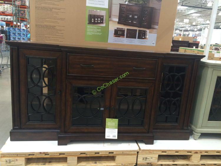 bayside furnishings ashcroft 72 tv console costcochaser. Black Bedroom Furniture Sets. Home Design Ideas