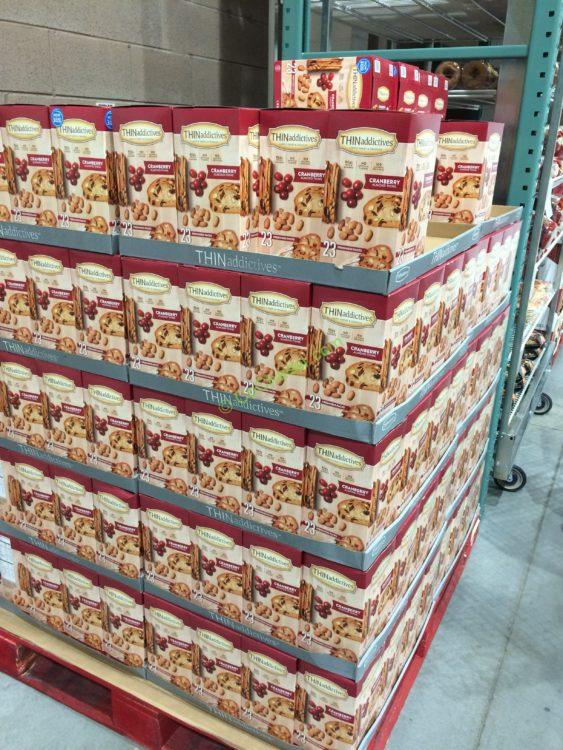 Costco 1084311 Thinaddictives Cranberry Almond Thins All