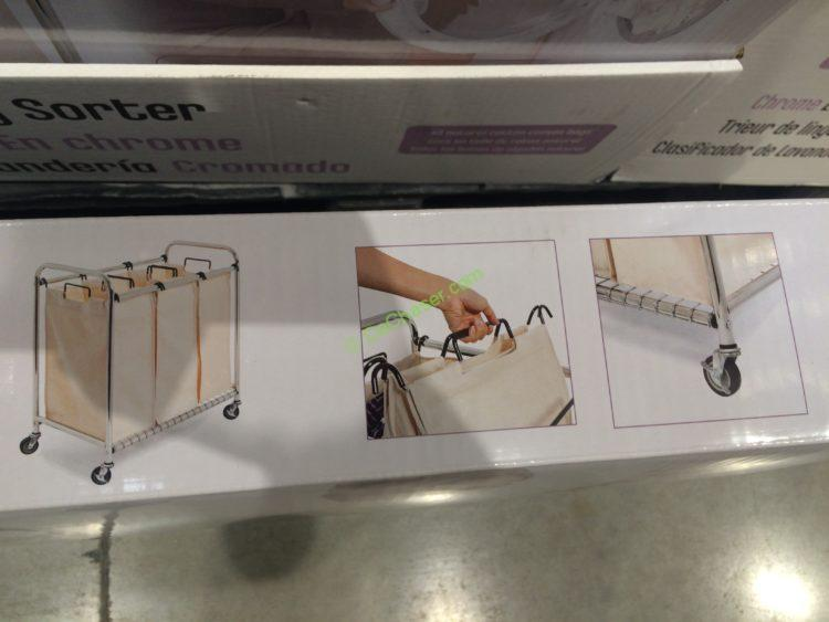 Costco-1085086- Seville-3Bag-laundry-Sorter-use