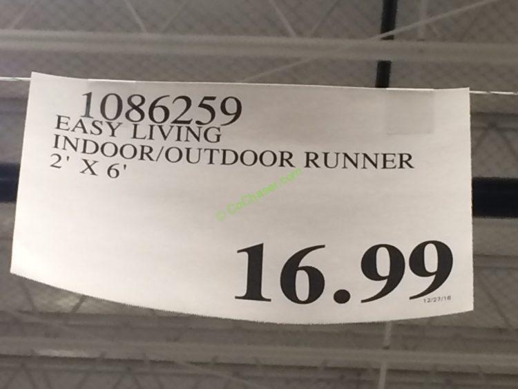Easy Living Orian Indoor Outdoor Runner 2 X 6 Costcochaser