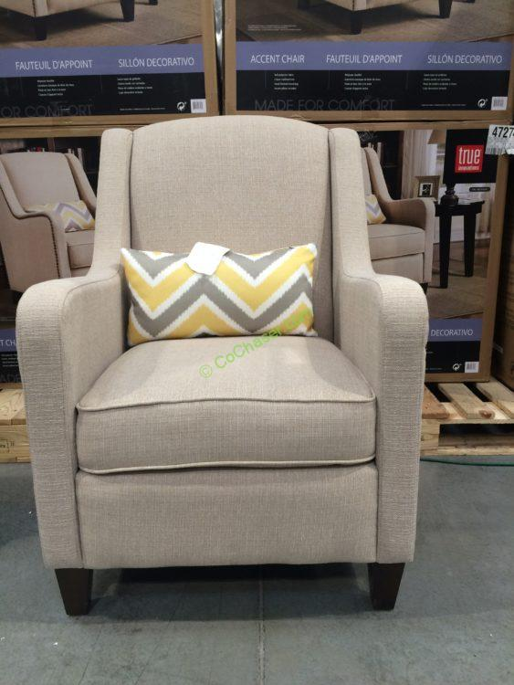 Marvelous True Innovations Fabric Accent Chair