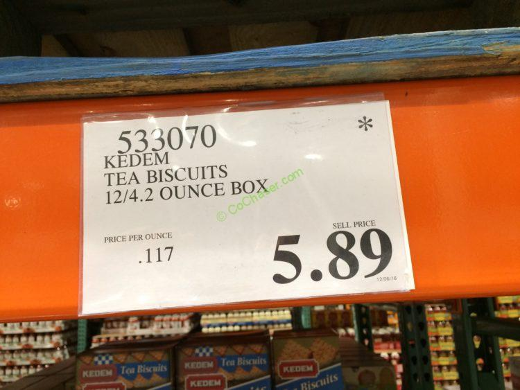 Kedem Tea Biscuits 12 4 2 Ounce Box Costcochaser