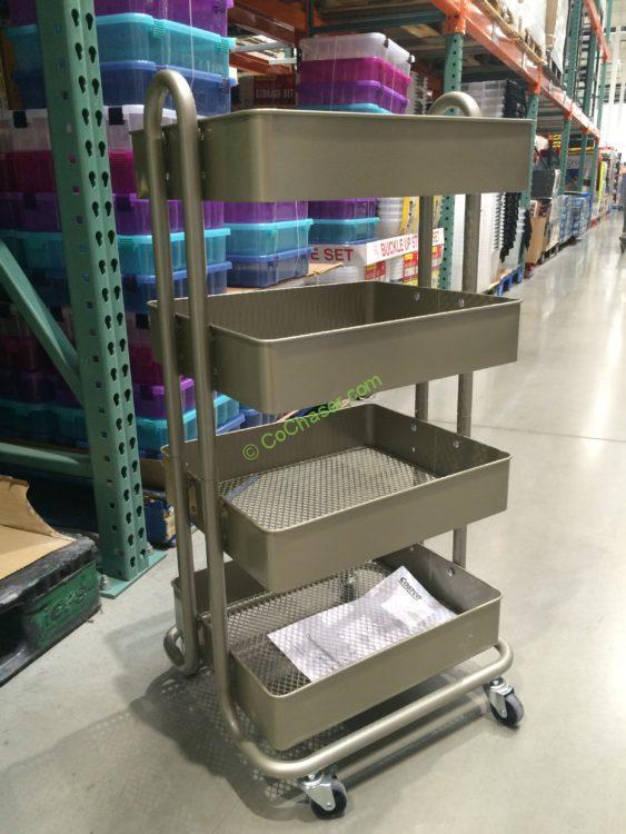 4-Tier Rolling Cart