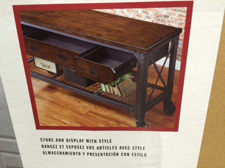 Whalen Industrial Metal Amp Wood Workbench Costcochaser
